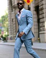 Красивые жениха Джейд Грин Жених Смокинги Мужские Свадебные Платье Человек Куртка Блейзер Пром Ужин 2 Шт. Костюм (Куртка + брюки + галстук) A198
