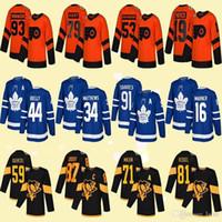 Toronto Maple Leafs 16 Mitchell Marner Stadium Series Jerseys Philadelphia Flyers 79 كارتر هارت بيتسبرغ 71 Evgeni Malkin Hockey Jersey