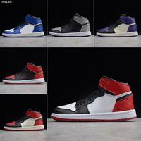 Nike Air Jordan 1 Infantile OG Chaussures de basket-ball pour enfants INVERSE New Love Little Big Petit Enfant 1 Garçons Filles Sneakers jeunes enfant en bas âge Athletic Trainers