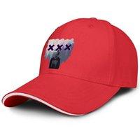 Unisex XXXTentacion Цвет Мода Бейсбол Сэндвич Шляпа Ретро Команда Грузовик Грузовик Шапка Черный Логотип Месть Белый Старинный Плохой XXXTentacion