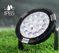 高輝度山台IP65防水9W CCT Bluetoothアプリリモコン屋外RGB LEDフラッドライトDC 24V低電圧