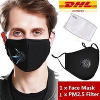 Fast DHL Ship!PM2. 5 Filter Mask Anti Dust Face Masks Activat...