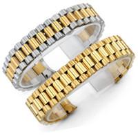 20 mm en acier inoxydable solide Bracelet de montre pour Rolex Oyster Datejust DaytonaStrap Wristband Bracelet en sangles