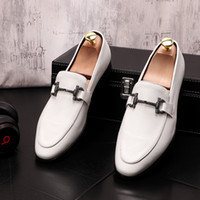 2020 Men' s Shoes Fashion Horsebit Men Loafers Men Shoes...