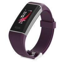 W7 GPS Herzfrequenzmesser Smart-Armband Fitness Tracker Sports Smart Watch Wasserdicht Passometer Armbanduhr für iOS Android iPhone-Uhr