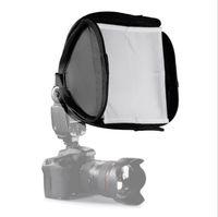 معدات التصوير الفوتوغرافي كاميرا SLR أعلى فلاش مربع لينة 23 * 23CM غطاء لينة المحمولة غطاء لينة softbox والعالمي