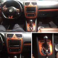 Для Volkswagen VW Scirocco / наклейки EOS самоклеющиеся автомобиля наклейки 3D 5D винила волокна углерода автомобиля и отличительные знаки автомобиля Стайлинг Аксессуары