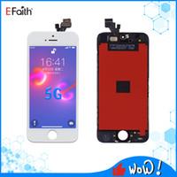 EFAITH Tianma LCD Ekran iPhone 5G Için Dokunmatik Paneller Digitizer Meclisi Ekranı Ücretsiz DHL