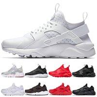 huarache Toptan Huarache 1 4 Üçlü Beyaz Siyah Kırmızı Gri Erkek Koşu Ayakkabıları Ultra Run Sneakers Huaraches Ayakkabı Erkekler Kadınlar Rahat Ayakkabılar 5.5-11