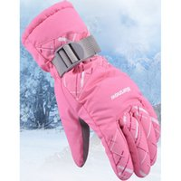 Women Waterproof Winter Snow Gloves Windproof Keep warm Ridi...