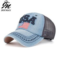 New Arrival Snapback Cap Cotton Denim Baseball Cap USA Flag ...