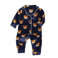 Baby Pyjamas Sets 2020 New Autumn Children Cartoon Pajamas F...