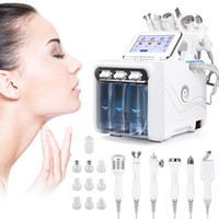 6 в 1 водяной кислородной струи Aqua Peeling Hydra Beauty Faceial Face Face Deep Cleansing Machine Professional Hydro DermaBrasion SPA SALON