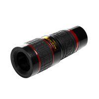 Universal Clipe 20X telescópio telemóvel HD externo lente teleobjetiva lente de substituição 20X Zoom Óptico Cell Phone Camera Lens