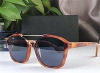 2020 Nouveau créateur de mode sunglasse abstraite cadre carré avant-gardiste de style d'été de qualité supérieure lunettes de protection UV400 populaire