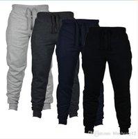 Pantaloni da uomo Pantaloni da uomo Skinny Joggers Camouflage Uomo Fashion Harem Lungo Pantaloni da tendenza a colori solido