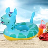 2019 Baby Bath Swim Ring Cartoon Animal Baby Infant Pool Sea...