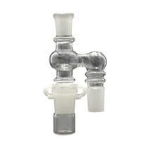 14mm Dropdown Reclaimer Kit Kit de récupération d'huile de verre à 90 ° d'articulation mâle à femelle pour bang en verre