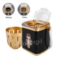 Lavadora electrónica Maquillaje automático Cepillo Limpiador Seco Limpieza Profunda Cepillos Esponja Polvo Puff Tiktok mini Juguete envío gratis