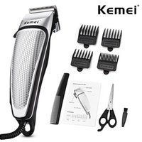 Kemei Electric Clipper Mens Hair Clippers Professional Trimm...