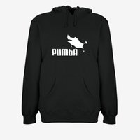 Pumba Mens Designer Hoodies 2019 New Clothes Pullover Long S...