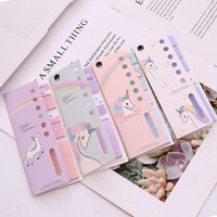 Cute Unicorn N Times Memo Pad Sticky Notes Cartoon Bookmark ...