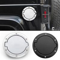 Автомобильный топливный наполнитель дверной крышкой газовой бак для джипов Wrangler JK Rubicon Sahara Unlimited 07-17 Замен с логотипом