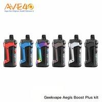 Geekvape Aegis Boost Inoltre Kit 40W alimentata da una singola batteria 18650 5.5ml Capacità 3-in-1 Supporta Pod RDTA e serbatoio da 100% originale