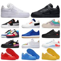 nike air force 1 one af1 n354 Top qualité Triple blanc noir femmes hommes chaussures de course stock x One Hyper Crimson Tropical Twist MCA University Blue designer baskets