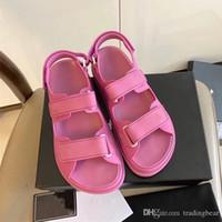 브랜드 신발 핑크 매직 스틱 워터프 해변 신발 부티크 호텔의 캐주얼 스타일 디자이너 샌들 럭셔리 여성 패션 신발 크기 (35) (41)에