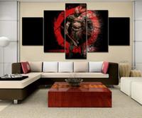 HD Mürekkep Püskürtmeli Modern Ev Tuval Dekoratif Duvar-Kratos Ares