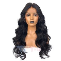 Best Brazilian Loose wave Black Virgin Hair Glueless Full La...