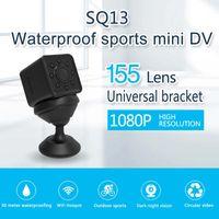 SQ13 ميني واي فاي كاميرا HD 1080P الكامل زاوية واسعة للماء كاميرا لاسلكية عن بعد IP كاميرا الرياضة مايكرو كاميرات الفيديو DV الأمن DVR مسجل
