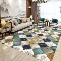 Rutschfeste Bodenmatte Rechteckige Teppichmarokkanische Runnerteppich für Schlafzimmer / Wohnzimmer / Esszimmer / Küchenppiche