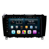 Android 8 pouces 8-core pour Mercedes Benz C 2004 CLK 2004-2006 voiture HD 1080P MP3 MP4 Lecteur multimédia Radio Wifi unité principale