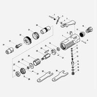 1/4 İnç Pnömatik Araçlar Freeshipping Hava Öğütücü Kiti Mini Taşlama Polonya Taş Zımpara Makinesi ile Pnömatik Taşlama Makinesi Die