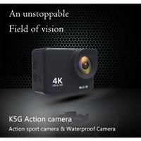 K5g Action Camera PK SJ4000 30M водонепроницаемый HD 4K Sport Camera 2.0 дюймовый ЖК-дисплей 140 градусов широкоугольный объектив наружная камера