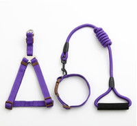 Nylon Harnesses Dog Collar Leash Pet Necklace Creative Fashi...