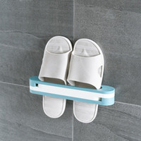Wall Mounted Folding Shoe Storage Rack Storage Holder Hangin...