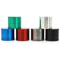 Zinc Alloy Smoke Grinder 4 Parts Metal Herb Tobacco Grinders...