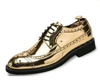 New vier Jahreszeiten business casual einzelne Schuhe Kleid-Schuhe Herren-japanischen Herren der Partei Hochzeit Schuhe