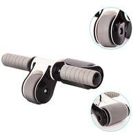Ab Roller plegable Sin ABS ruido entrenador del músculo abdominal de la aptitud para Reducir los músculos abdominales Peso Formación Estimulador