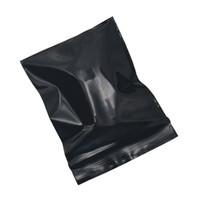 Retail Zipper Grocery Gift Packing Storage Pouch 4*5cm Mini Black Zip Lock Resealable Zip Bag 500pcs/lot Self Seal Plastic Package Bag