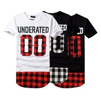 BRSR 2019 UNDERATED Bandana Hombre Camisetas Extendidas Hombres Skateboard Element camiseta Hip Hop camiseta Ropa Streetwear