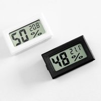 مصغرة LCD رقمية البيئة رطوبة ميزان الحرارة الرطوبة درجة الحرارة متر ثلاجة درجة الحرارة اختبار دقيق الاستشعار LJJP11