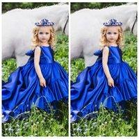 2020 O-Collo delle ragazze di fiore abiti a pieghe abiti convenzionali capretti della festa di compleanno delle ragazze Cute Princess partito di usura