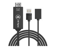 3 in1 USB 3.0 к HDMI 4K HD 1080P Цифровой HDTV AV TV Кабель-адаптер для iPhone, Samsung