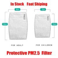 5 계층 보호 PM2.5 PM 2.5 필터 종이 일회용 얼굴 마스크 내부 패드 가스켓 교체 필터 패드 호흡이 주식을 마스크 마스크