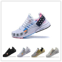 Hot Sale Designer Presto 2. 0 Men Women Running Shoes Gray Bl...