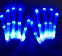 Éclairage LED Gants Clignotants Cosplay Nouveauté Gants Led Gants Jouets Flash Flash pour La Langue Des Signes Halloween Décoration De Fête De Noël